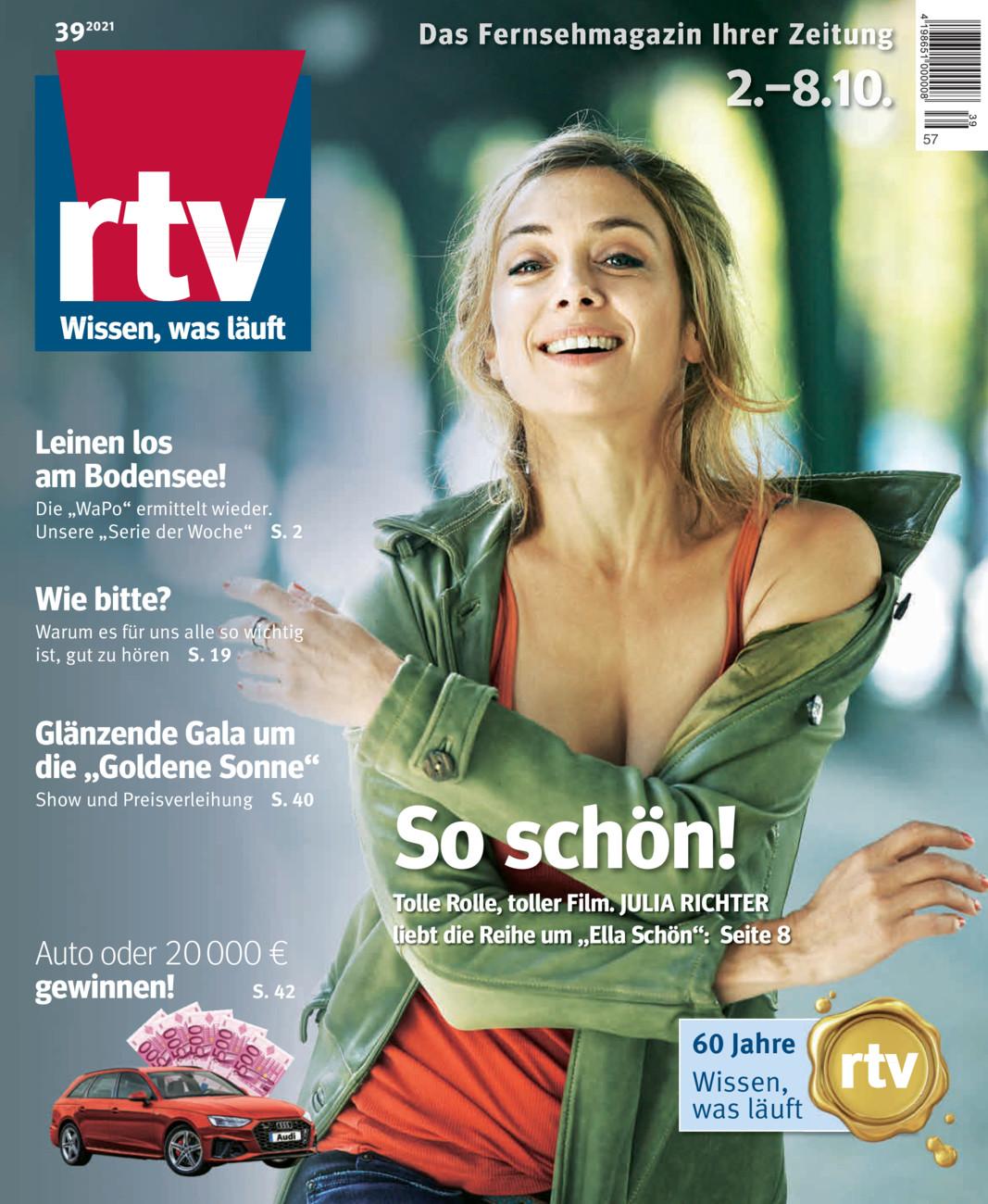 RTV Fernsehmagazin vom Dienstag, 22.09.2020