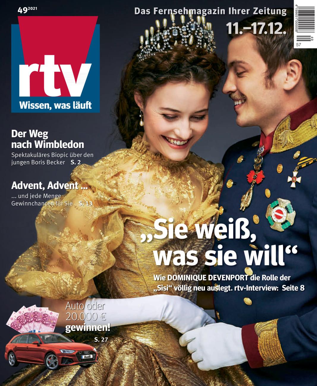 RTV Fernsehmagazin vom Dienstag, 01.12.2020