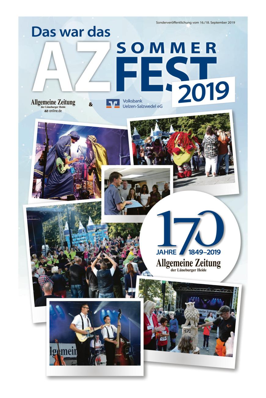 AZ Sommerfest Nachlese vom Montag, 16.09.2019